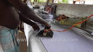 They make your clothes clean and sharp with their impeccable ironing and washing | Dhobis of India