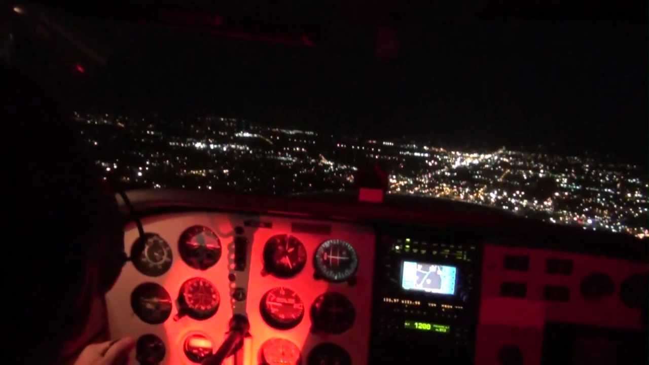 Night Currency Flight for Casey Baird - Murfreesboro Aviation w ... | title | night currency