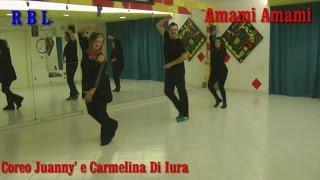 AMAMI AMAMI COVER COREO JUANNY E CARMELINA DI IURA RBL