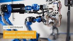 Webinar mobile Material- und Retourenprozesse bei der YASKAWA Europe GmbH