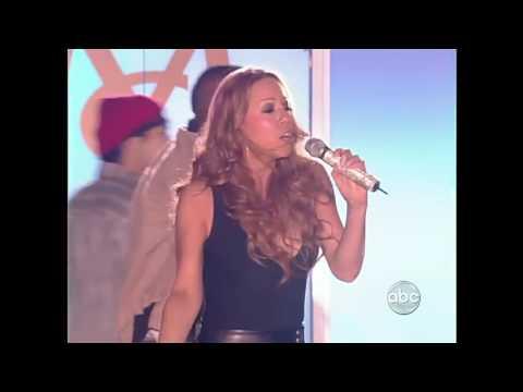 HD Mariah Carey Ill Be Lovin U Long Time Jimmy Kimmel 2008