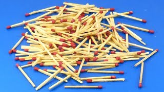 Amazing craft with matchstick | Matchstick Art and Craft Idea | DIY arts and crafts
