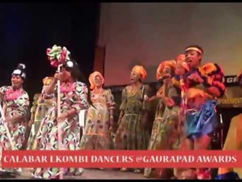 CALABAR EKOMBI DANCERS @ GUARANPAD LAUNCH