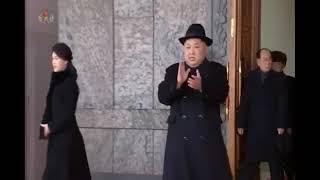 Военный парад в Пхеньяне 08.02.2018