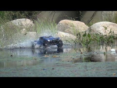 RC Truck Hydroplaning--Best Of RCFRENZY Hydroplaning