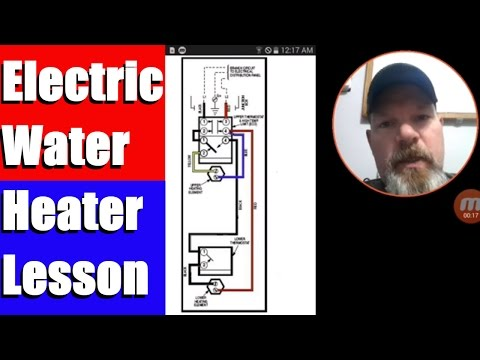 water heater wiring diagram dual element  1991 dodge pickup