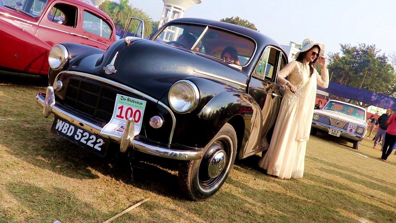 Vintage Car Rally At Kolkata | Khoz Bangla - YouTube
