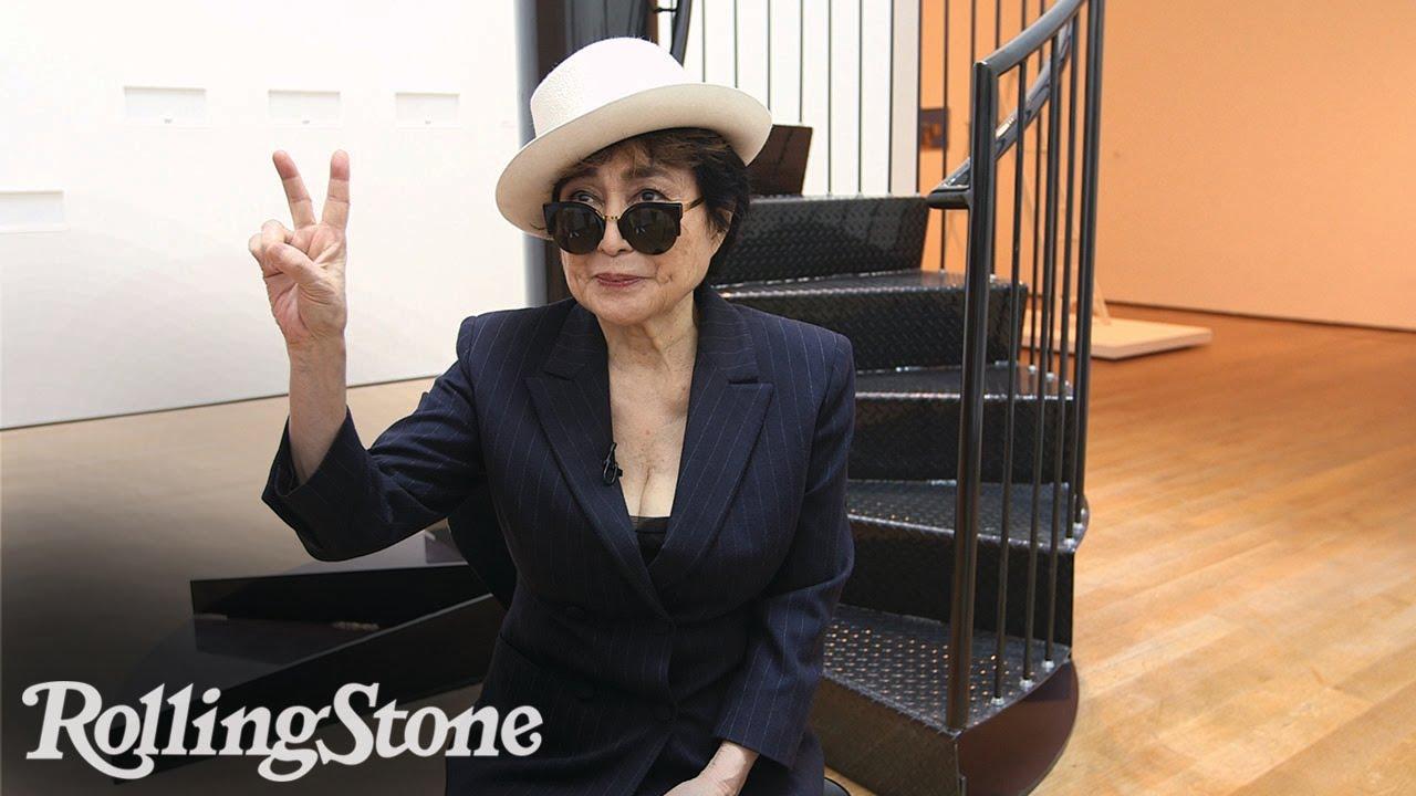 Inside Yoko Ono's MOMA Retrospective