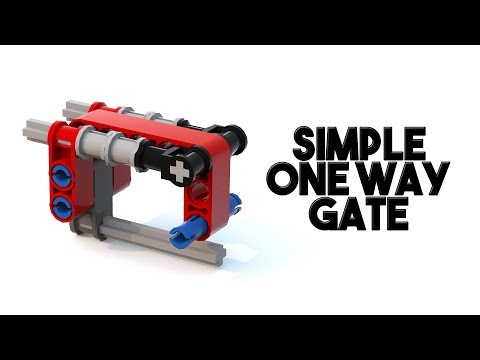 Simple One-Way Gate for FLL! | With Building Instructions
