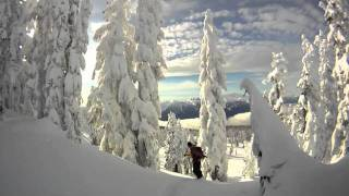 Backcountry Skiing. Paul Ridge, Squamish, BC
