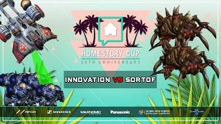 Innovation vs Sortof Bo2 [TvZ] Homestory Cup XX Starcraft 2