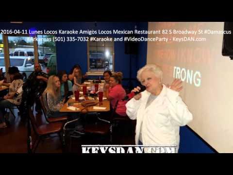2016 04 11 Lunes Locos Karaoke Amigos Locos Mexican Restaurant 82 S Broadway St #Damascus #Arkansas
