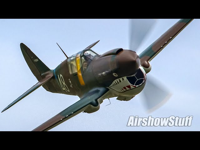 Vintage Warbirds Low and Loud! Thunder Over The Heartland 2021