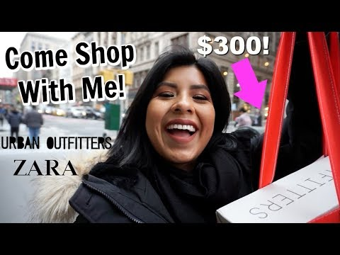 Come Shop With Me for a Cute Brunch Outfit + Haul!