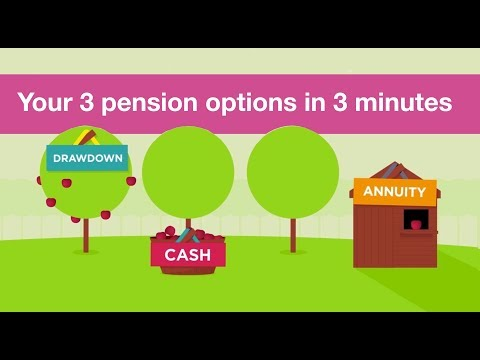Your 3 pension options in 3 minutes