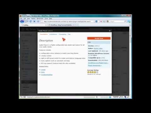 How to Add Streaming Audio in WordPress? (42) Wordpress Video Tutorials