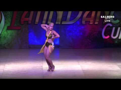 Veronica Arrais, Italia, Salsa Soloist Lady PRO, Final Round, WLDC 2015