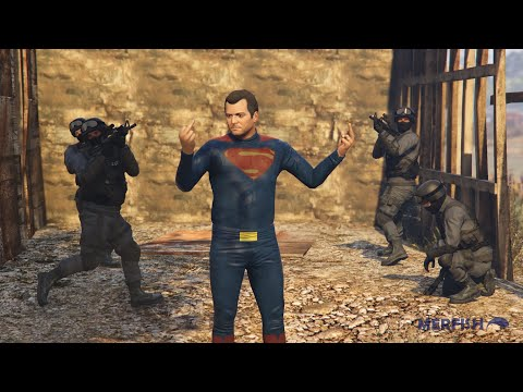 Batman v Superman: Dawn of Justice Trailer Recreated in GTA V [Outtakes]