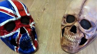 Как сделать любую фигурку или маску | череп своими руками из пластика . how to do the mask of skull