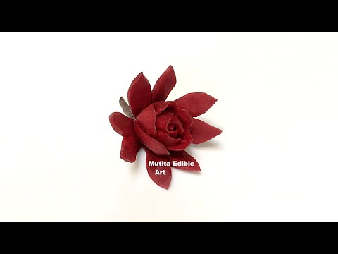Beetroot | Red Rose Flower | Advanced Lesson 39 | By Mutita Edible Art Of Fruit And Vegetable Carvin