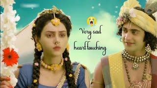 very sad heart touching Radha dialogue Radha Krishna love WhatsApp status