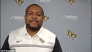Tim Harris Jr. - Pre-Spring Ball Media Availability