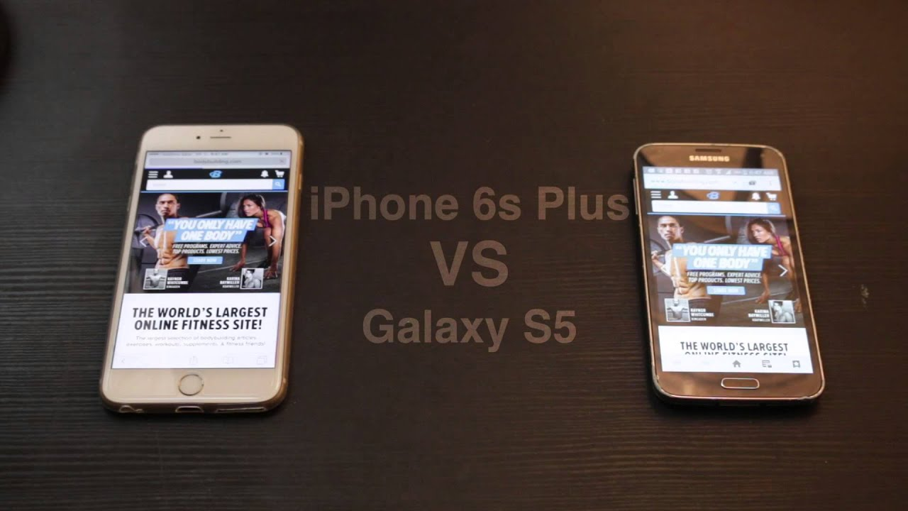 Iphone 6s Vs S5