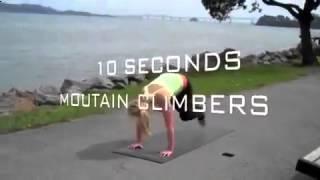 Упражнения фитнес. Занятия для похудения.(, 2014-09-30T12:53:42.000Z)
