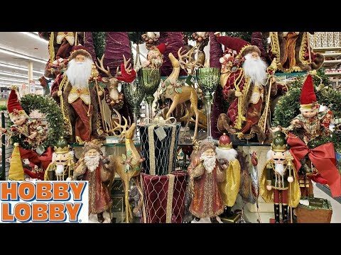 SHOP WITH ME * HOBBY LOBBY CHRISTMAS BROWSE THROUGH 2019