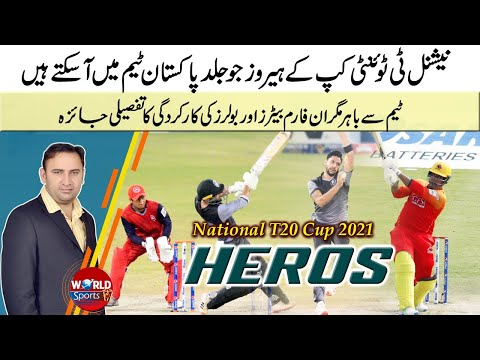 Upcoming cricketers in Pakistan team   Top performers of National T20 Cup 2021