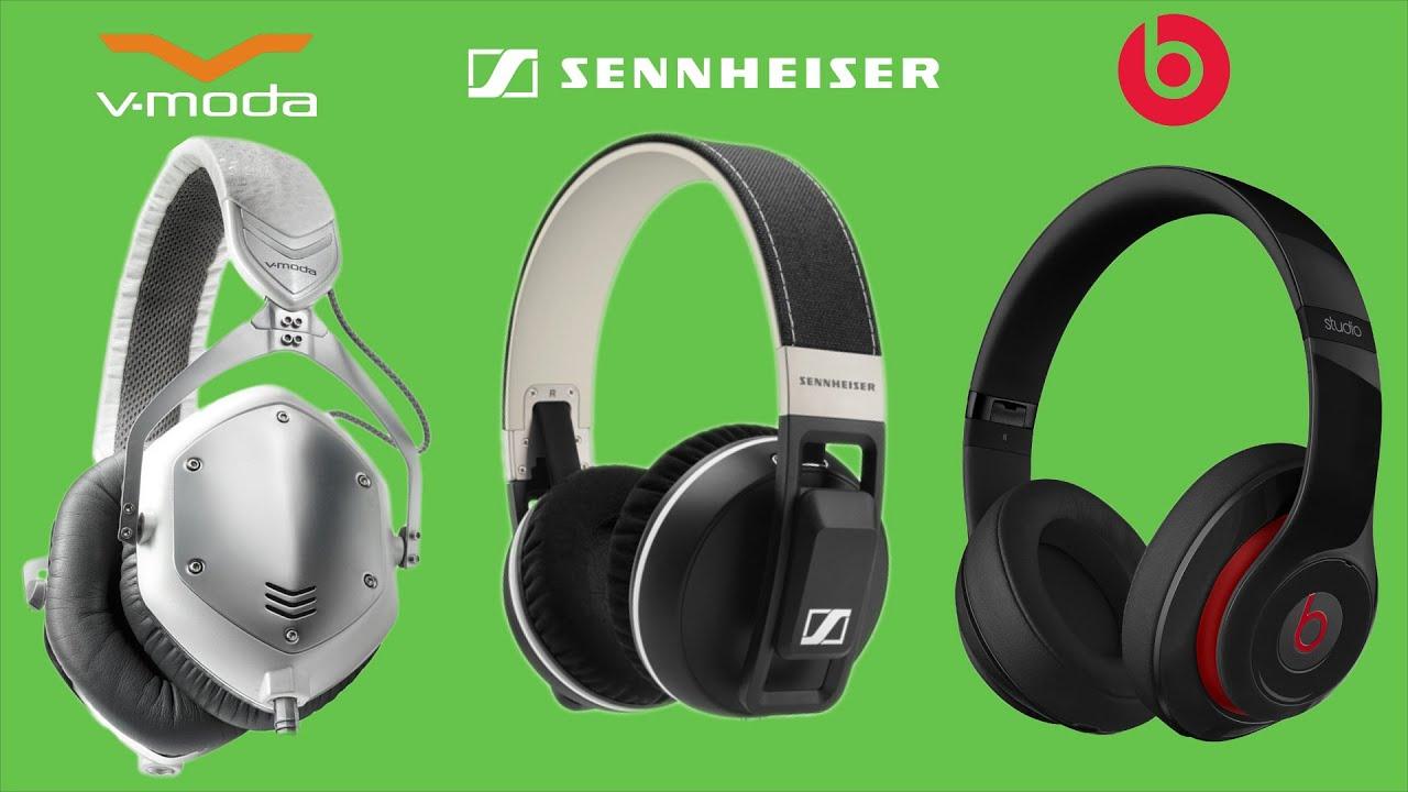 Sennheiser Urbanite XL vs Beats Studio vs V-Moda Crossfade M100 Review  Comparison 1457e6e59244