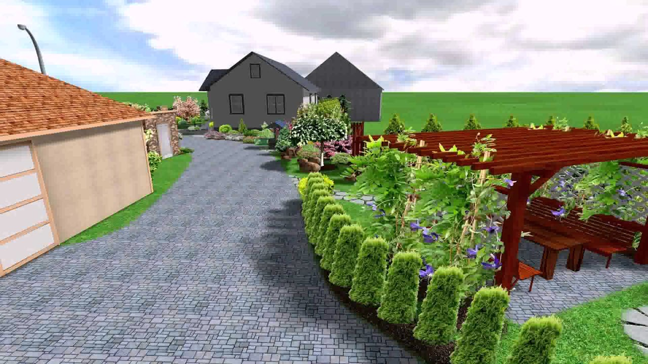 Free Online Landscape Design Software For Mac - YouTube