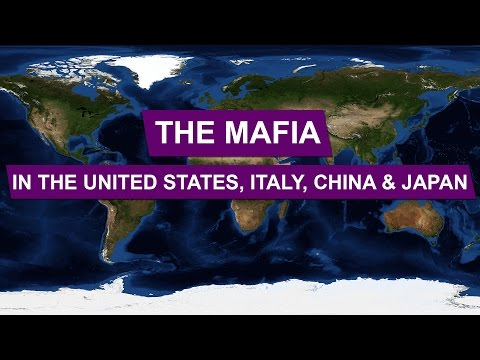 The Mafia in the United States, Italy, China and Japan • Explained With Maps