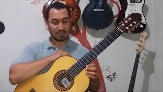 Cómo tocar Contigo Aprendí  en Guitarra