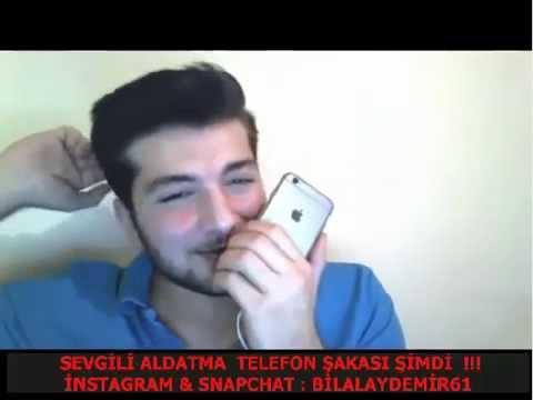 Bilal Aydemir Sevgili Aldatma Telefon Şakası Kız Aldatıldığını Öğrenince Ağlıyor