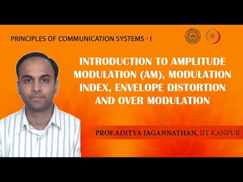 Lec 10 | Principles of Communication | Amplitude Modulation | IIT Kanpur