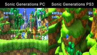 Sonic Generations: Why I Play On PC (PC vs. PS3 Comparison)