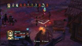 Classic Game Room HD - VANDAL HEARTS: FLAMES OF JUDGMENT for PS3 review