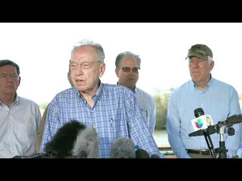 Grassley Remarks at Press Conference on the Border Crisis