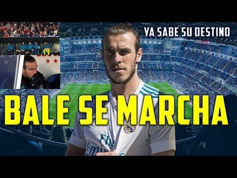 BALE SE MARCHA DEL MADRID ESTE VERANO CONFIRMADO   GARETH TIENE DECIDIDO SU PRÓXIMO EQUIPO