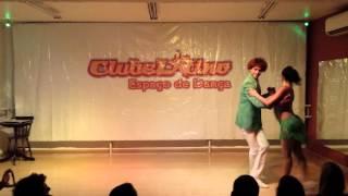 CLUBE LATINO -  JESSE BRAIAN & CRIS ALMEIDA (SAMBA DE GAFIEIRA)