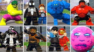 All Character Transformations in LEGO Marvel Super Heroes 2 thumbnail