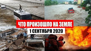 Катаклизмы за день 1 сентября 2020 | месть природы, изменение климата,событие дня,в мире,пульс земли