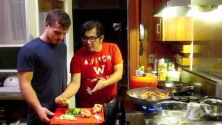 Lobster Dinner Cantonese Style 龍蝦廣東烹飪