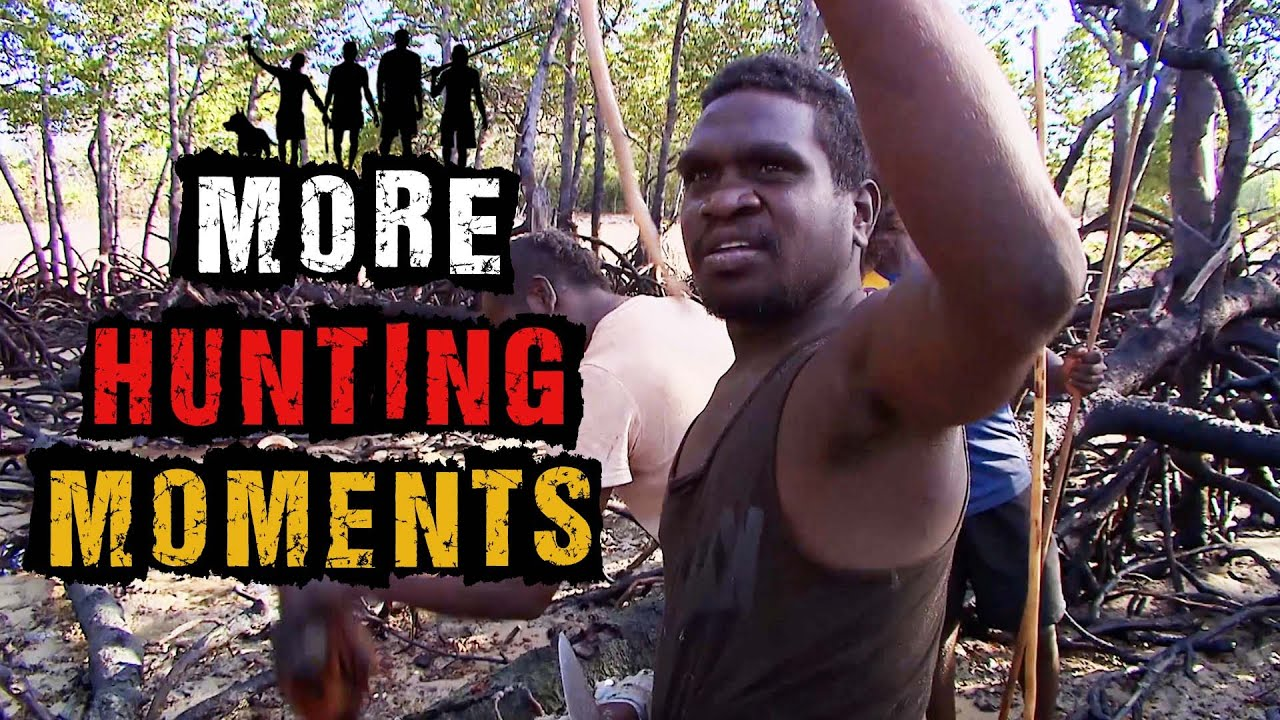 Hunting Wild Birds, Fish and Crabs in the Aussie Bush   Black As Hunting Moments
