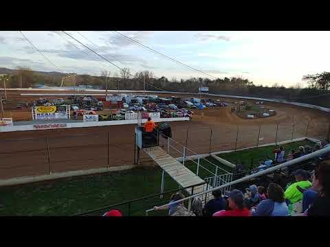 Rod Carter JR Qualifying at Lake Cumberland Speedway 4/6/19