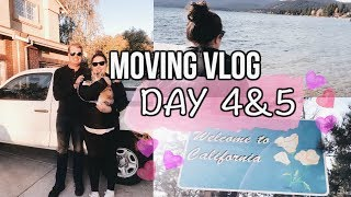 Wyoming to California | Cross Country Road Trip | Moving Vlog