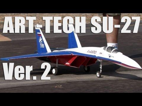 Art-Tech SU-27 Russian Knight Twin EDF Fighter Jet Version 2