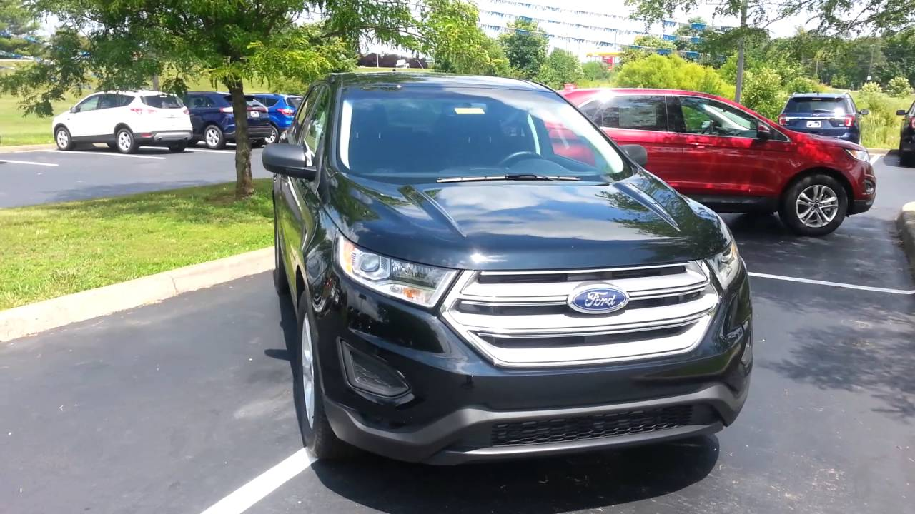 2016 Ford Edge at Jack Kain Ford. - YouTube