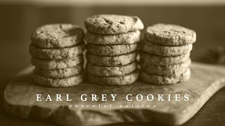[No Music] How to Make Earl Grey Cookies